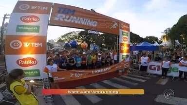 TEM Running 2018 está com inscrições abertas em Bauru - O período de inscrições do TEM Running vai até o dia 27 de junho. A prova será em Bauru, no dia 21 de julho. O inscrito pode optar entre a caminhada de cinco quilômetros e a corrida, de cinco e dez quilômetros.