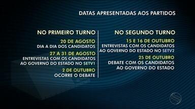 TV Sergipe reuniu representantes dos partidos políticos para tratar sobre as Eleições 2018 - Na reunião foram apresentadas as principais datas da cobertura deste ano.