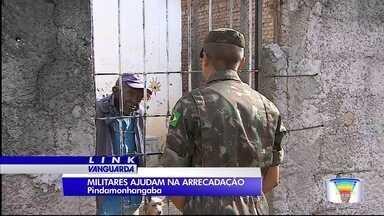 Exército tem uma missão em Pindamonhangaba: ajudar na Campanha do Agasalho - A meta é superar as 50 mil peças arrecadadas no ano passado.