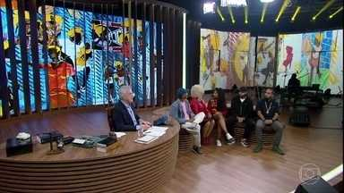 Conversa com Bial - Programa de quinta-feira, 10/05/2018, na íntegra - O Conversa com Bial promoveu uma reflexão sobre os 130 anos de abolição da escravatura e suas marcas na sociedade brasileira. A primeira professora negra do ITA, Sonia Guimarães; Helio Santos, e o rapper e compositor Emicida debateram sobre a questão