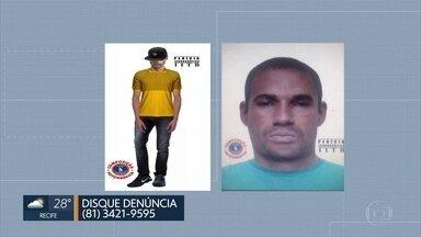 Polícia divulga retrato falado de suspeitos de estuprar estudantes - Caso aconteceu em Vitória de Santo Antão.