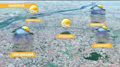 Fim de semana deve ser de chuva na região Noroeste - As temperaturas devem ficar amenas