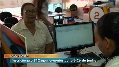 Agehab abre inscrições para sorteio de 912 apartamentos populares em Goiânia - Contemplados poderão financiar imóveis com parcelas de pouco mais de R$ 300.