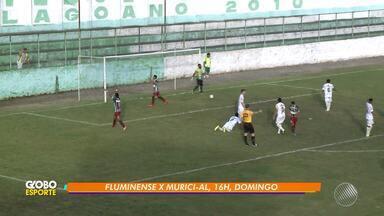 Fluminense de Feira enfrenta o Murici-AL neste domingo (13) pela Série D do Brasileirão - A partida acontece ás 16h, no Estádio Alberto Oliveira, em Feira de Santana.