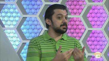 Roberto Leite opina sobre fim da seca de gols de Arthur, do Ceará - Roberto Leite opina sobre fim da seca de gols de Arthur, do Ceará.