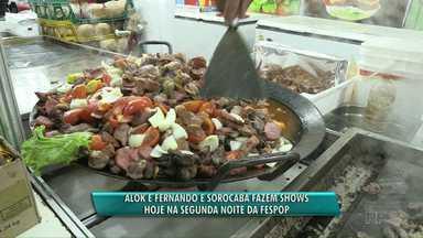 Confira a programação de mais uma noite da Fespop - Hoje tem Alok e Fernando e Sorocaba.