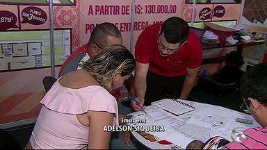 Feirão Casa Própria é realizado em Caruaru - Feira acontece até o sábado (12).