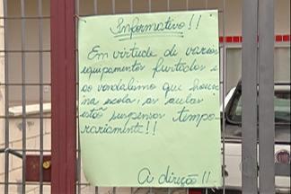 Creche de Mogi que foi vandalizada deve retomar trabalho nesta quarta-feira - Unidade fica na Chácara Guanabara e foi invadida e furtada.