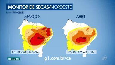 Confira o Monitor da Seca no Nordeste nesta quarta-feira (16) - Saiba mais em g1.com.br/ce