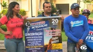 Circuito de Integração abre inscrições em Arapiraca - Evento será um passeio ecológico, com 35 quilômetros de pedalada.