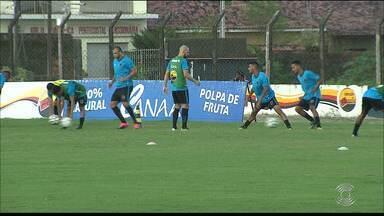 Botafogo-PB se reapresenta para o jogo contra o Santa Cruz - Belo precisa vencer para voltar ao G-4 da Série C do Campeonato Brasileiro