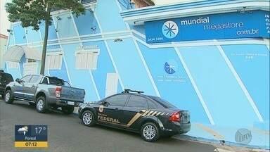 Polícia Federal cumpre mandado de busca e apreensão em Ribeirão Preto, SP - Operação 'Non Subditos' investiga a compra e vendas de produtos vindos do exterior.