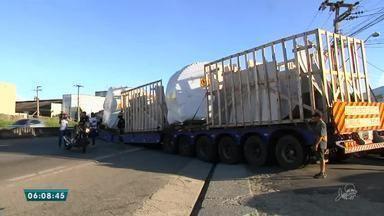 Trecho da BR-116 interditado por carreta que deu pane é liberado - Saiba mais em g1.com.br/ce