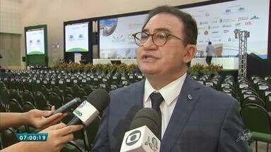 Empresários de hotéis de todo o Brasil estão em congresso aqui em Fortaleza - Saiba mais em g1.com.br/ce