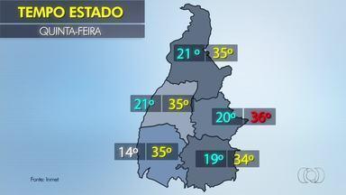 Confira a previsão do tempo para a sua cidade - Confira a previsão do tempo para a sua cidade