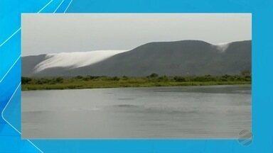 Fenômeno climático deixa morro do Pantanal de MS parecido com neve - No caso de regiões litorâneas, fenômeno é comum, como no Corcovado que é um dos morros do Rio de Janeiro e famoso pela estátua do Cristo.