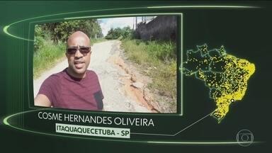 Vídeos de Itaquaquecetuba, Nova Maringá, Ortigueira, Itacarambi, Gurupá e Pedreiras - Moradores de Itaquaquecetuba (SP), Nova Maringá (MT), Ortigueira (PR), Itacarambi (MG), Gurupá (PA) e Pedreiras (MA) dizem o que querem para o futuro.