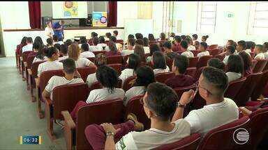 Seja Digital apresenta inovações da TV Digital para alunos do Liceu Piauiense - Seja Digital apresenta inovações da TV Digital para alunos do Liceu Piauiense