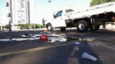 Forças de segurança se reúnem para definir estratégia para evitar bagunça na Vila Olímpica - No último domingo os bombeiros tiveram trabalho para atender uma adolescente, que estava na festa