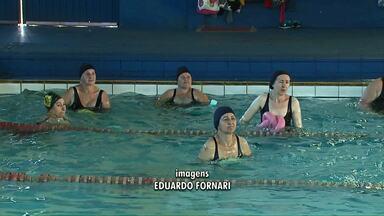 Estão abertas vagas para natação e hidroginástica em Cascavel - 500 vagas estão a disposição de interessados.