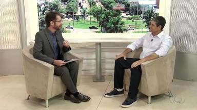 Candidato em eleição suplementar, Marcos Souza (PRTB) fala sobre planos de governo - Candidato em eleição suplementar, Marcos Souza (PRTB) fala sobre planos de governo