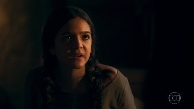 Agnes tem uma visão e descobre que o inquisidor chegou ao reino - A menina teme que Selena esteja em perigo