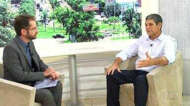 Marcos Souza é o segundo candidato ao governo entrevistado pelo JA1 - Marcos Souza é o segundo candidato ao governo entrevistado pelo JA1