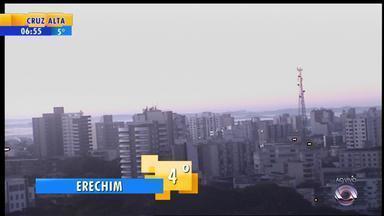 Tempo: confira o amanhecer no interior do RS nesta quarta-feira (23) - Vejas as temperaturas.