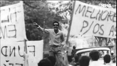 Estudantes queriam mudar o mundo em maio de 1968