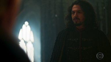 Afonso pede ao Conselho da Cália que Dom Bartolomeu se retire de Montemor - O Rei insiste que o inquisidor chegou ao reino sem ser convocado
