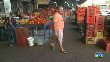 Confira a movimentação na Ceasa em São Luís - O abastecimento de produtos alimentícios já começa a diminuir na Ceasa em virtude da greve dos caminhoneiros no Maranhão.