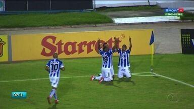 CSA intensifica treinos para jogo em Goiania - Confira a reportagem.