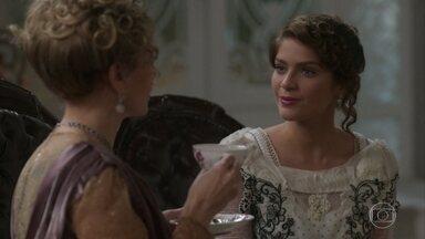 Charlotte e Josephine continuam a conversar - Charlotte revela seu plano para punir Uirapuru