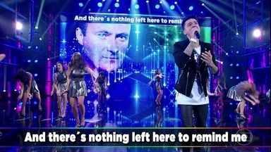 "Jeferson Moraes canta ""Against All Odds"" - Cantor presta homenagem a Phil Collins"