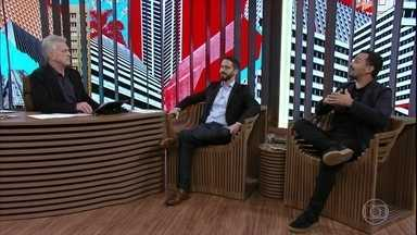Bial recebe Ronaldo Lemos e Alê Youssef para um debate sobre democracia e tecnologia - Alê Youssef alerta para o perigo da criação de bolhas nas redes sociais