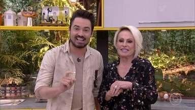 Ana Maria recebe Fernando, da dupla com Sorocaba, na Casa de Cristal - Cantor fala sobre DVD produzido em um milharal e diz que sua especialidade na cozinha é galinhada