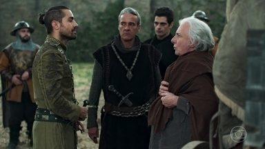Otávio manda Delano avisar a Catarina que Augusto é seu prisioneiro - Augusto é conduzido à Lastrilha