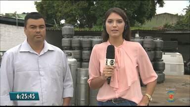Gás de cozinha já pode ser encontrado na Paraíba - Gás de cozinha deve ser vendido, no máximo, a R$ 70, diz sindicato.