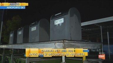 Estação de lixo em condomínio na Palhoça incetiva a reciclagem - Estação de lixo em condomínio na Palhoça incetiva a reciclagem