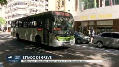 Motoristas e cobradores de ônibus do Rio entram em estado de greve - Com o aumento da tarifa para R$3,95, sindicato pede que empresas coloquem salários e benefícios em dia