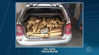 Homem abandona carro lotado de maconha em motel em Regente Feijó - Investigações tentam identificar o responsável pela droga.