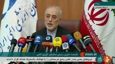 Irã informou que vai aumentar capacidade nuclear se acordo for cancelado - O governo de Israel tenta convencer Alemanha, França e Reino Unido a desistir do pacto, como os Estados Unidos já fizeram.