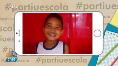 Estudantes mandam vídeos para o quadro #partiuescola - Veja a participação da criançada no JM.