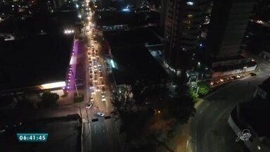Guincho atrapalha trânsito em grande avenida de Fortaleza - Saiba mais em g1.com.br/ce