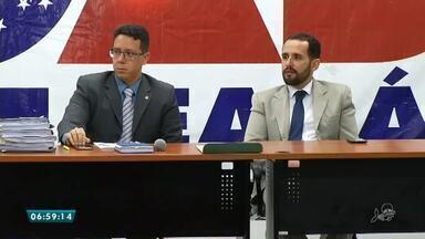 Ministério Público se reúne com distribuidores de combustíveis por conta da gasolina - Saiba mais em g1.com.br/ce