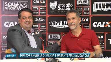 Novo diretor de futebol anuncia mudanças no Vitória - Confira as notícias do rubro-negro baiano.