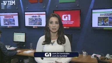 Mayara Corrêa traz os destaques do G1 Sorocaba e Jundiaí nesta quarta-feira - Confira os destaques do G1 Sorocaba e Jundiaí nesta quarta-feira (6) com Mayara Corrêa.