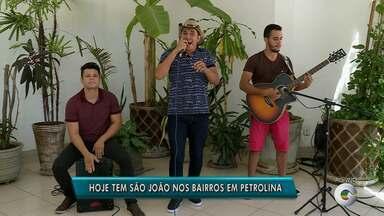 São João dos Bairros acontece nesta sexta (08) no bairro Rio Corrente - Show do cantor André Mendes é uma das atrações do evento.
