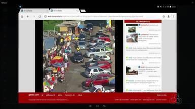Tô na Rede: reclamação é sobre os ambulantes que ficam do lado de fora da feira, no AP - Isso vem causando prejuízos tanto financeiro quanto de ocupação da feira de quem trabalha na feira