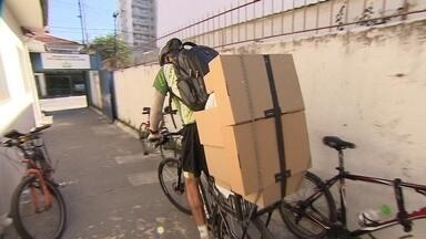 Empresa de entregas com bicicletas dribla greve e aumenta o faturamento - Empresários de diferentes setores contam como enfrentaram os dias da paralisação nas estradas e a falta de combustível.